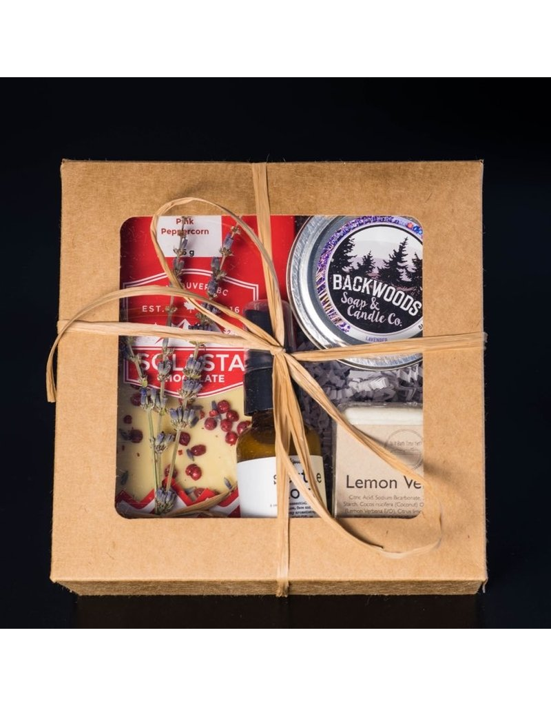 Cultured Coast Lemon Lavender Deluxe Gift Box