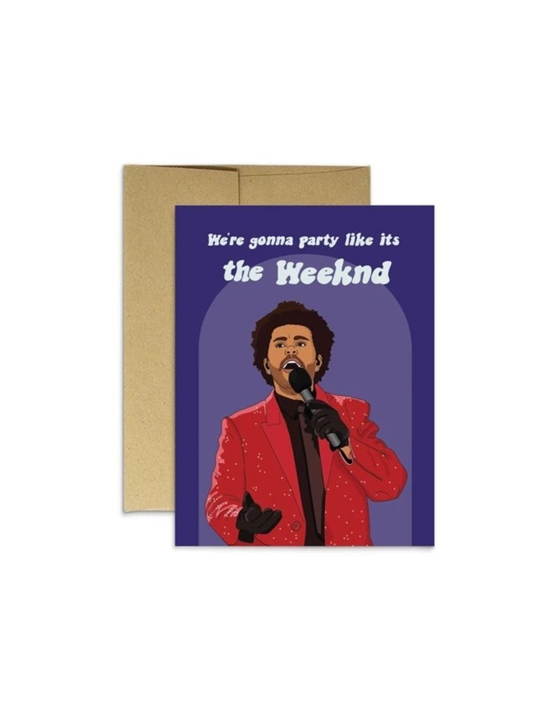 Party Mountain Paper Co Birthday Weeknd Card
