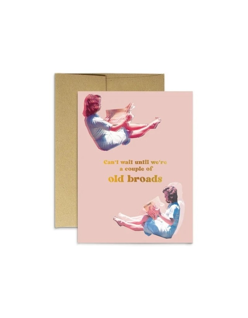 Party Mountain Paper Co Old Broads Card