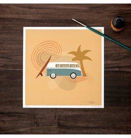 Amanda Weedmark Hippie Dreams Art Print