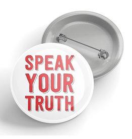 Black River Letterpress & Paper Co. Speak Your Truth Pin