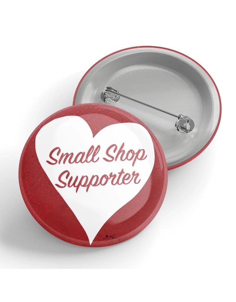 Black River Letterpress & Paper Co. Small Shop Supporter Pin
