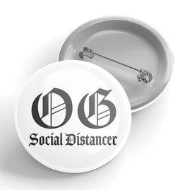 Black River Letterpress & Paper Co. OG Social Distancer Pin