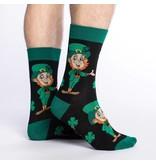 Good Luck Sock Men's Leprechaun Socks