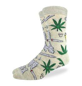 Good Luck Sock Men's Stoned Marijuana Socks