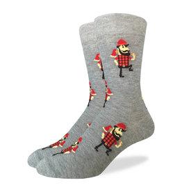Good Luck Sock Men's Lumberjack Socks