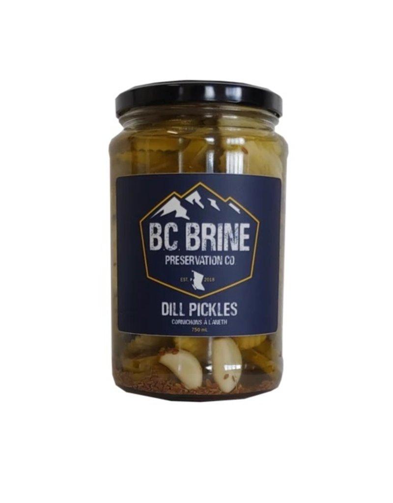 BC Brine Preservation Co Dill Pickles