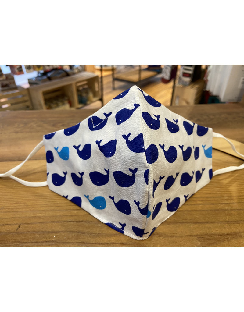 Buffy's Face Diapers Blue Whale Adult Mask