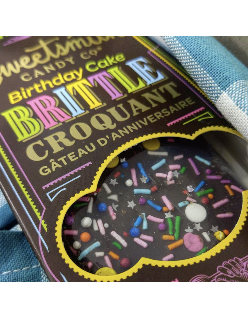 Sweetsmith Candy Co Chocolate Birthday Cake Brittle