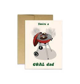 Party Mountain Paper Co Coal Dad Card