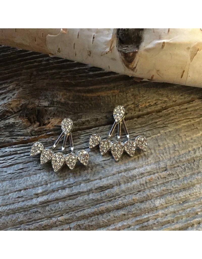 Beautiful Boundaries 5 Crystal Earrings