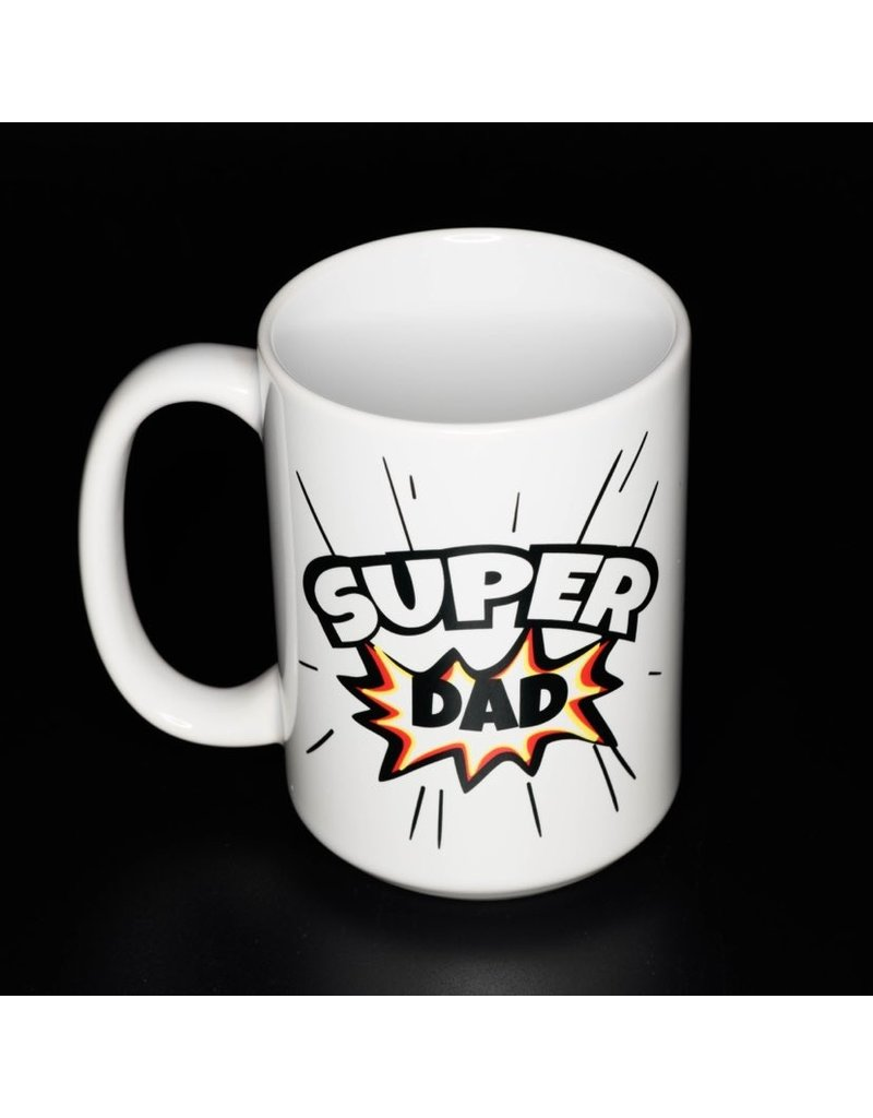 Cultured Coast Superdad 15oz Mug