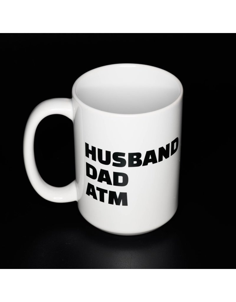 Cultured Coast Husband Dad ATM 15oz Mug