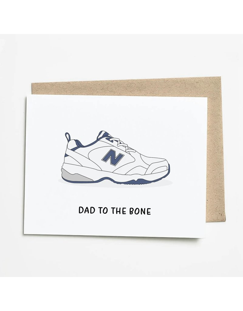 Nine Two Design Dad To The Bone Card