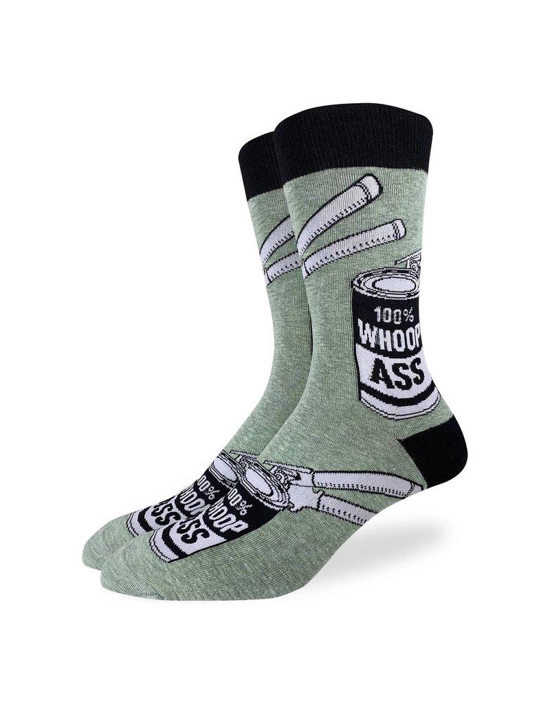 Good Luck Sock Men's A Can of Whoopass Socks