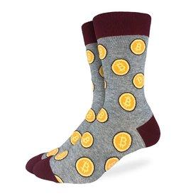 Good Luck Sock Men's Bitcoin Socks