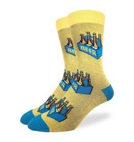 Good Luck Sock Men's Six Pack of Beer Socks