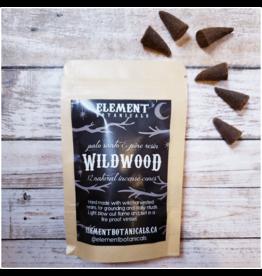 Element Botanicals Wildwood Incense - 12 piece