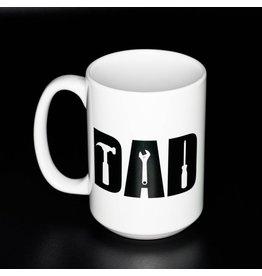 Cultured Coast Dad (Tools) Black 15oz Mug