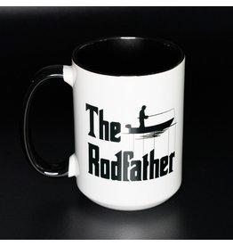 Cultured Coast The Rodfather Black 15oz Mug