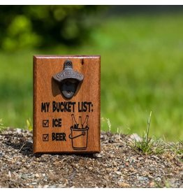 Cultured Coast Bucket List Bottle Opener
