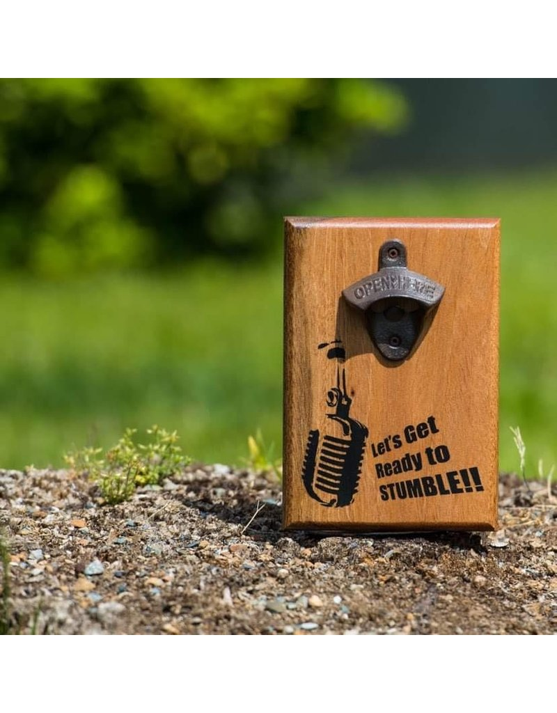 Cultured Coast Lets Get Ready to Stumble Bottle Opener