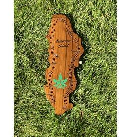 City Crib Peace Pot Leaf Crib Board
