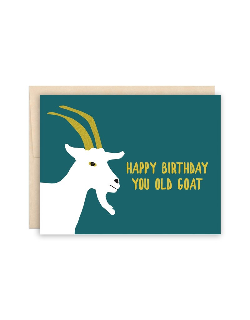 The Beautiful Project Old Goat Birthday Card