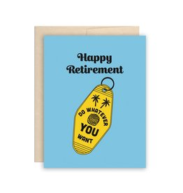The Beautiful Project Happy Retirement Card