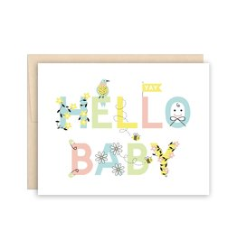 The Beautiful Project Hello Baby Congrats Card