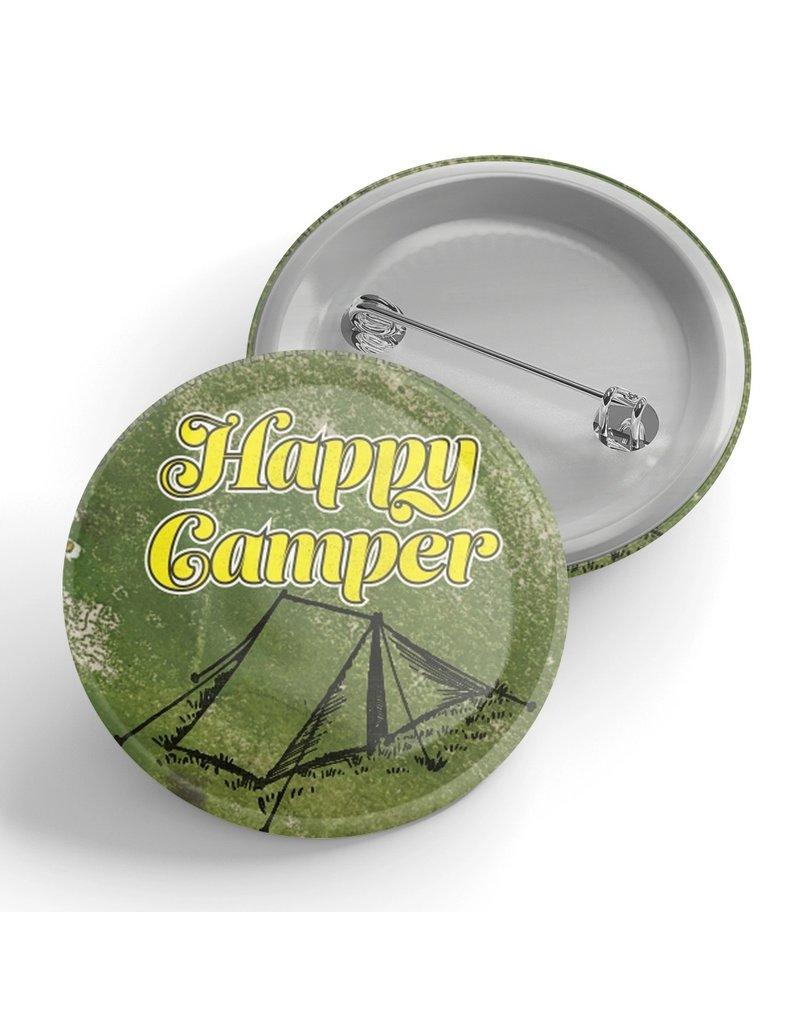 Black River Letterpress & Paper Co. Happy Camper Pin