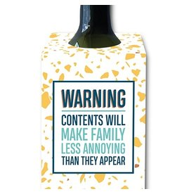 I'll Know It When I See It Make Family Less Annoying Wine Tag
