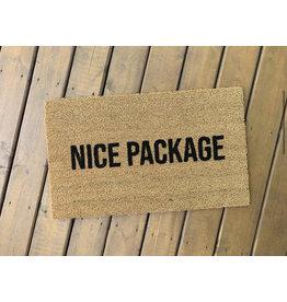 Aspen Blue Co Nice Package Doormat