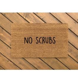 Aspen Blue Co No Scrubs Doormat