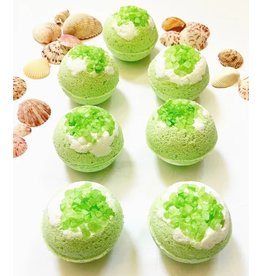 August Botonicals Lime in the Coconut Bath Bomb