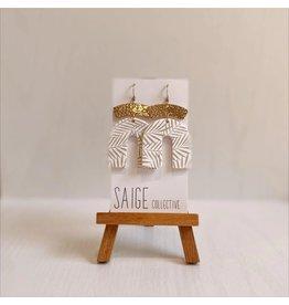 Saige Collective Archer - Palmas Clay Earrings