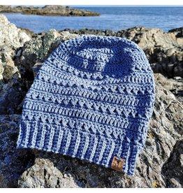 Tillys Cozy Hooks Sitka Lightweight Summer Slouchy -Salish Blue