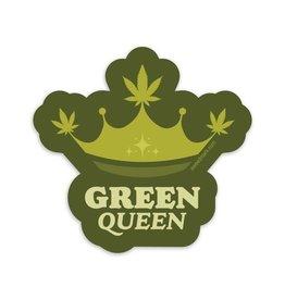 Amanda Weedmark Green Queen Vinyl Sticker