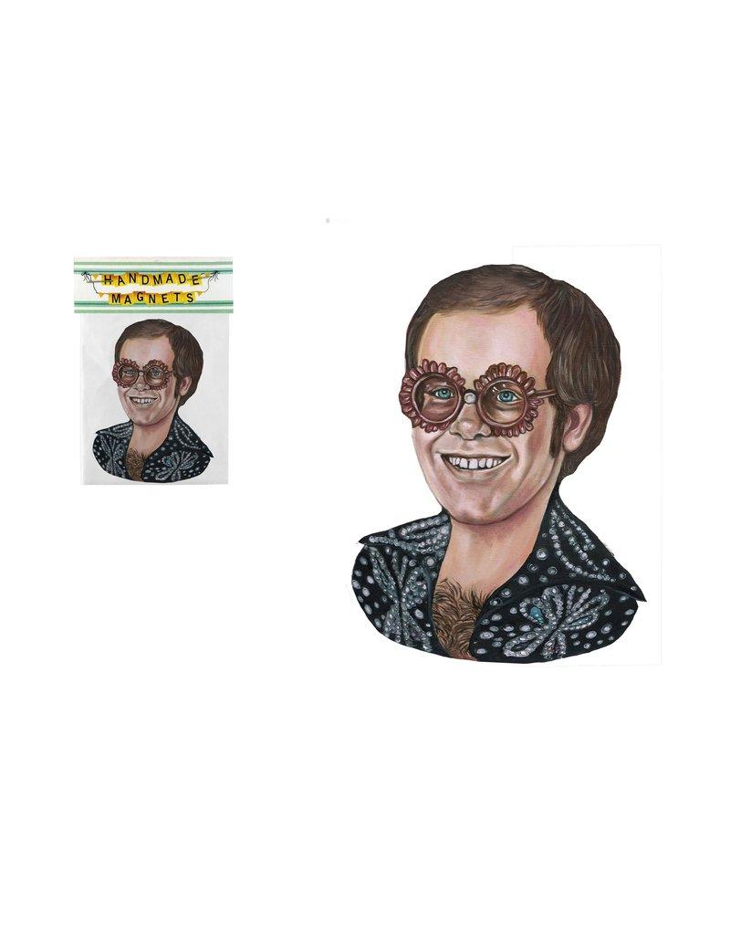 The Dolly Shop Elton John Magnet