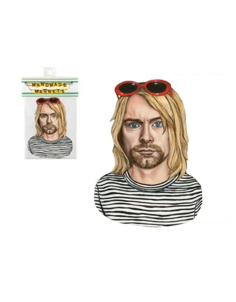 The Dolly Shop Kurt Cobain Magnet
