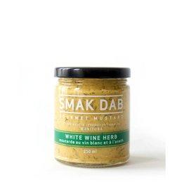Smak Dab White Wine Herb Mustard