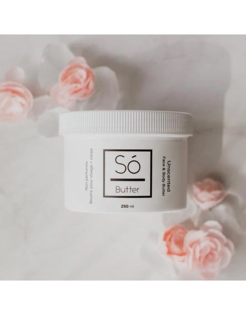 SO Luxury Unscented Body Butter