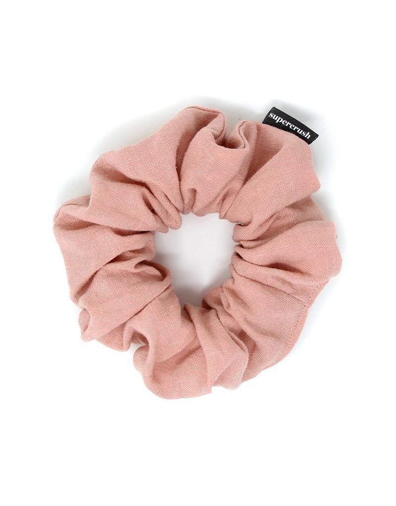 Supercrush Rosedust Linen Scrunchie