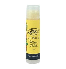 Pure Anada Natural Cosmetics Mango Peach Lip Balm