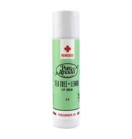 Pure Anada Natural Cosmetics Tea Tree & Lemon Lip Balm