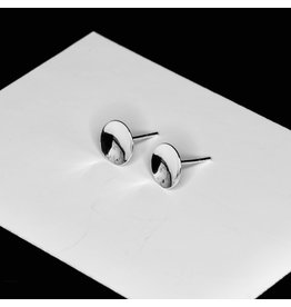 Elements Gallery Tiny Disk Stud Concave