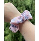 Van Isle Hairstyle Zipper Scrunchie- Floral