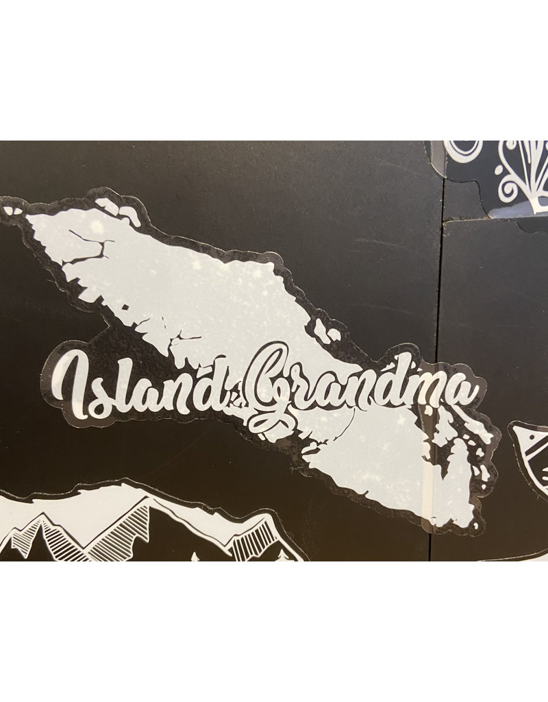 Cultured Coast Island Grandma Decal