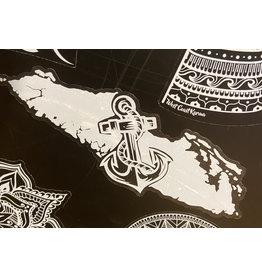 Cultured Coast Anchor Island Decal