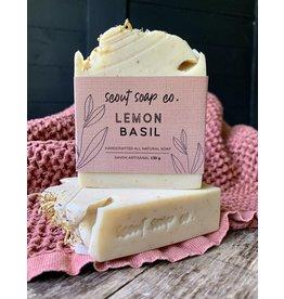 Scout Soap Co Lemon Basil Soap